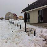 Установка заборов зимой  Волжский, Волгоград и область