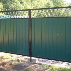 откатные раздвежные ворота